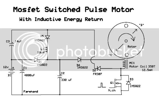bedini window motor circuit