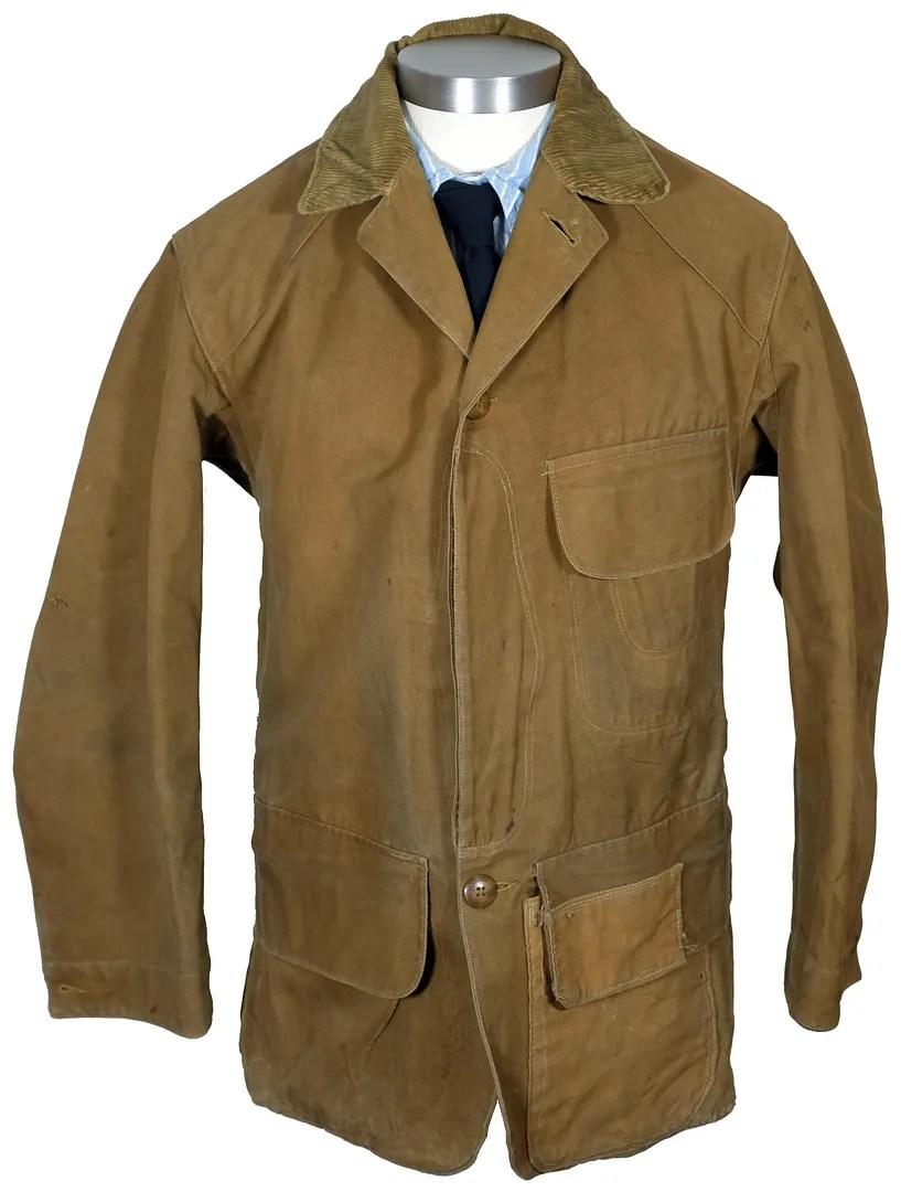 ad24159eb416e 1920s Duxbak PakBak canvas hunting jacket | Vintage-Haberdashers Blog