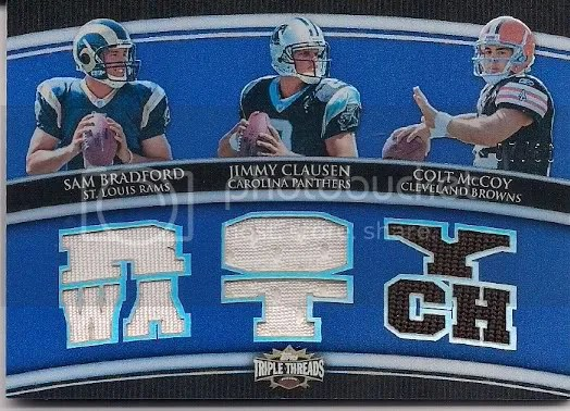 2010 Topps Triple Threads Football