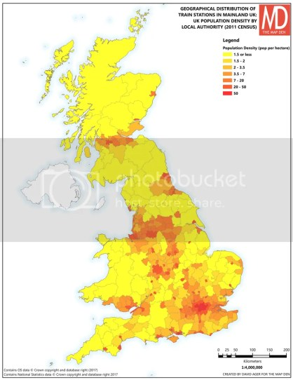 UK Population Density