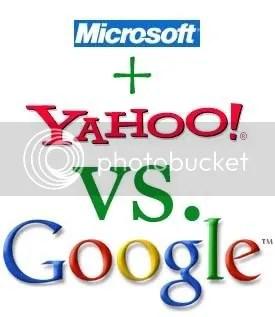 Microsoft + Yahoo! - União contra Google - Logo