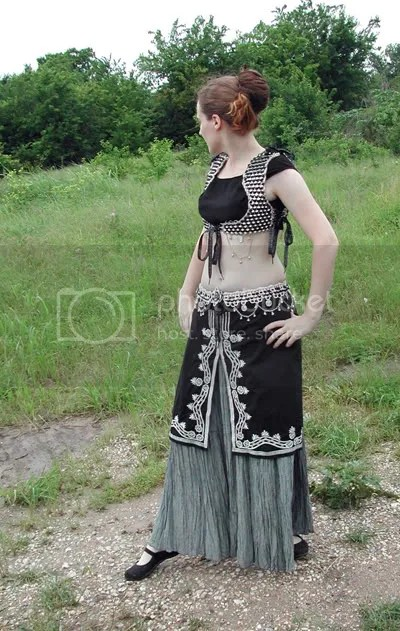 Tabistry Turkish-style Vest and belt