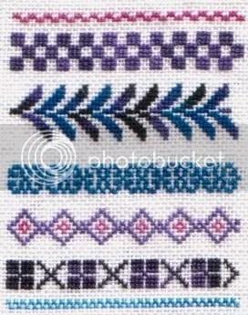 my design, 1x1 on 35 ct using HDF silks