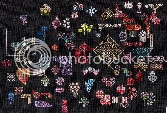black doodle cloth
