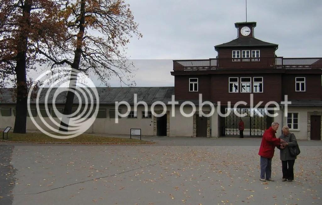 Buchenwald Concentration Camp Prisoner's Area Entrance