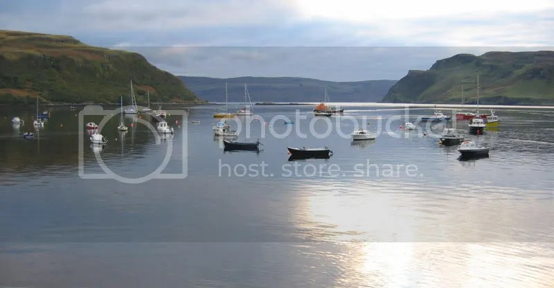 Portree in the morning