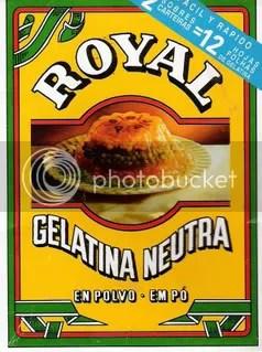 Gelatina en polvo Royal apta Dukan