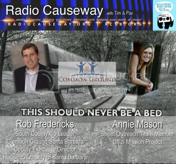 Radio Causeway: Rob Fredericks of Common Ground  Santa Barbara – Feb 8, 2011