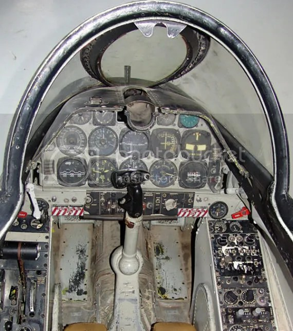Cockpit of the A-4 Skyhawk - the plans McCain flew in Vietnam
