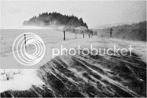 140km/h bora winds near Razdrto.