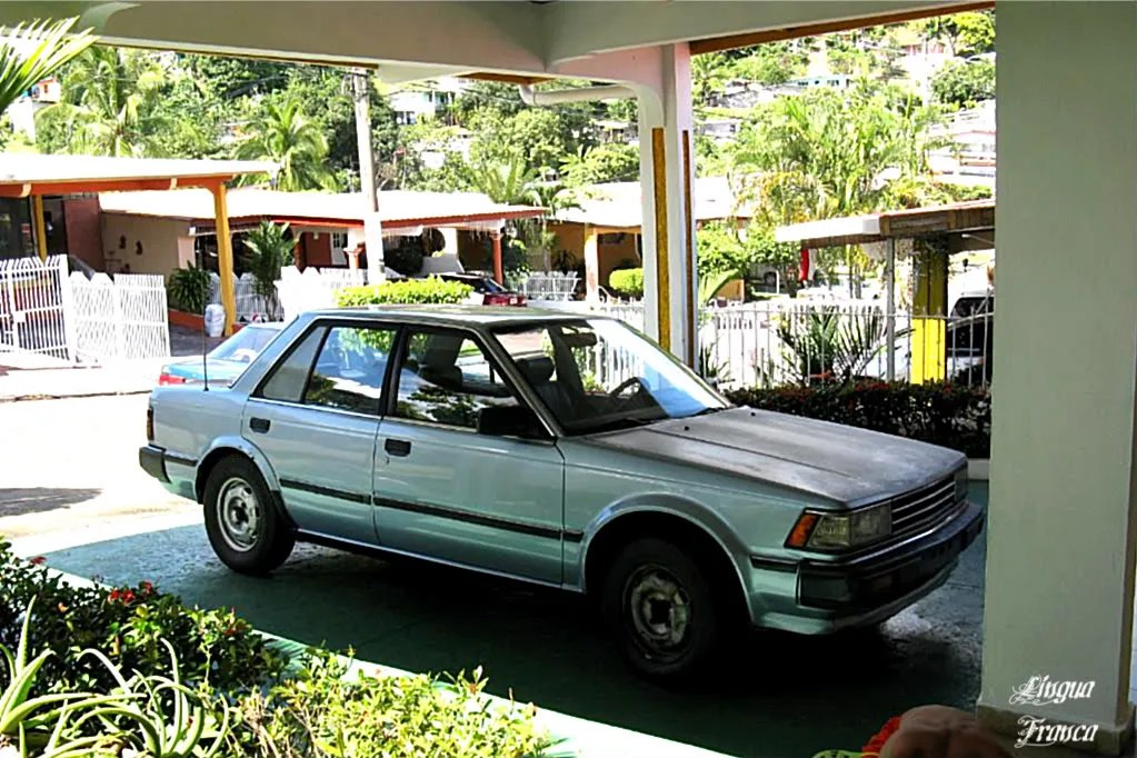 Nissan Bluebird 1985 in excellent working conditions.