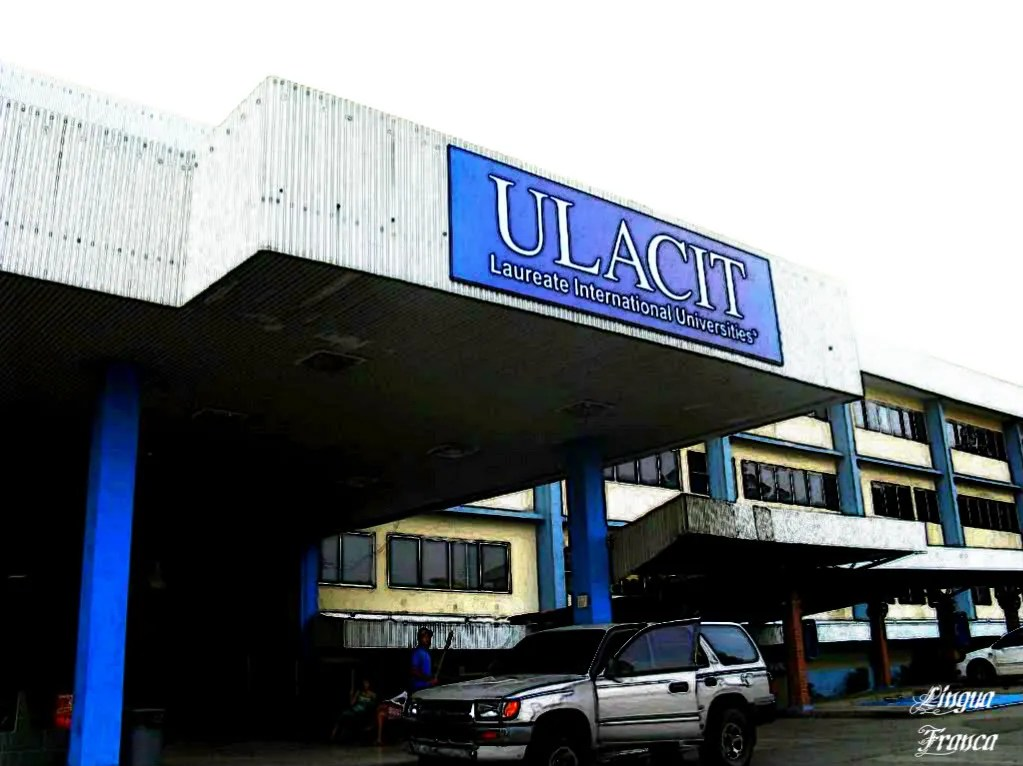 This is the entrance to ULACITs building.  It looked dark early in the morning, yet I met several early birds already at the cafeteria.  (Credit:  Omar Upegui R.)