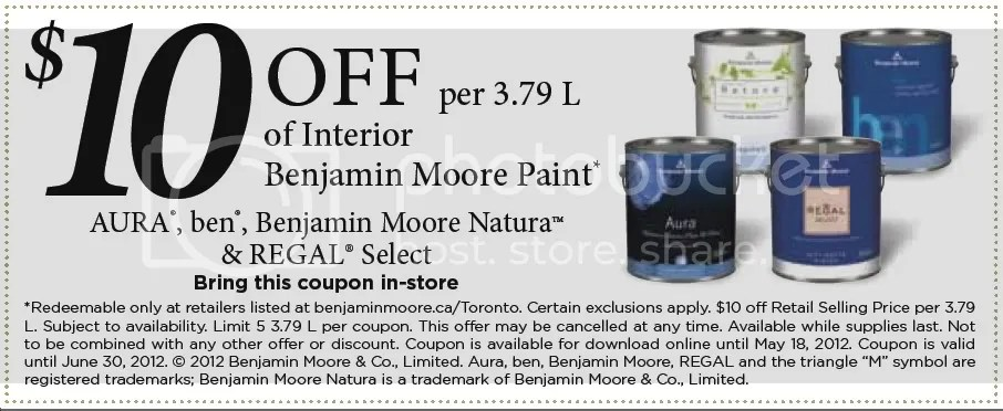 updated benjamin moore 10 off 3 79l can of paint on benjamin moore coupon id=49122
