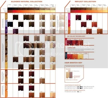 Matrix Permanent Hair Color Chart Hairstly