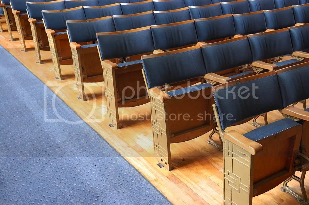 Hall seats