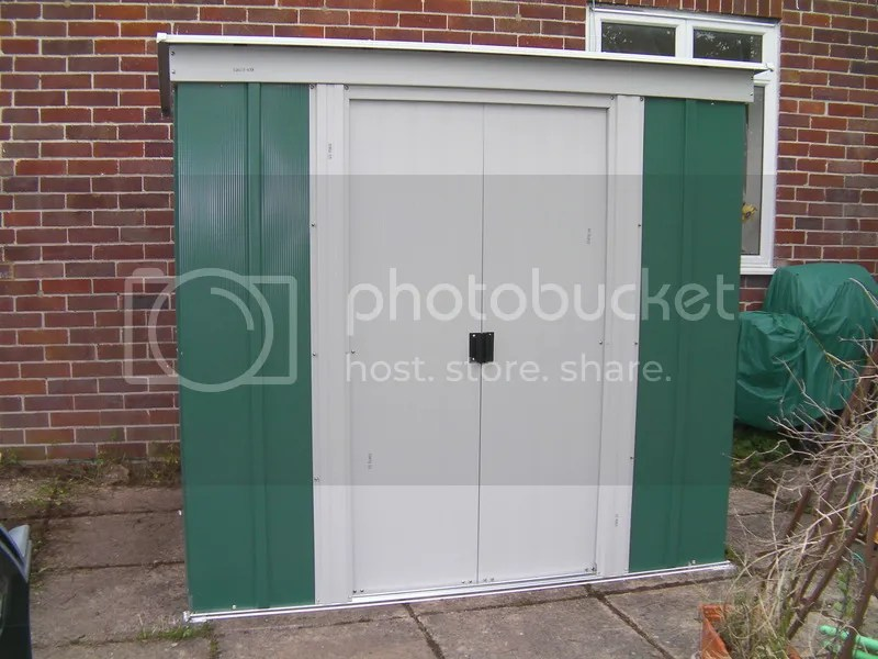 New shed - doors open