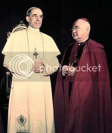 PopePiusandCardinalSpellman.jpg picture by kjk76_93