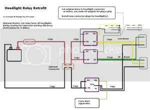 Headlight plug wiring diagram Asap  TLPla Forums