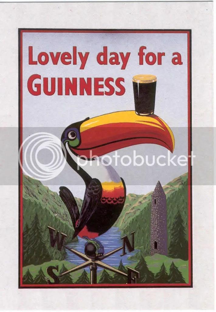 Que teñen en común os tucáns e as pintas de Guinness??