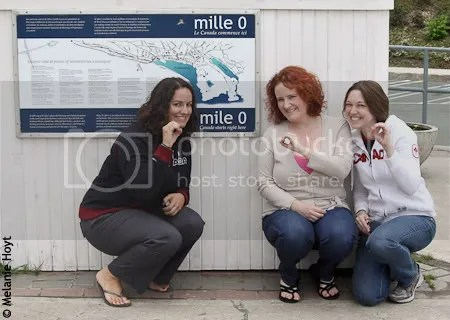 The Girls at Mile Zero