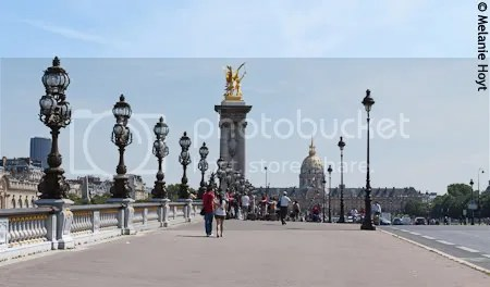 Pont Alexandre III and Les Invalides