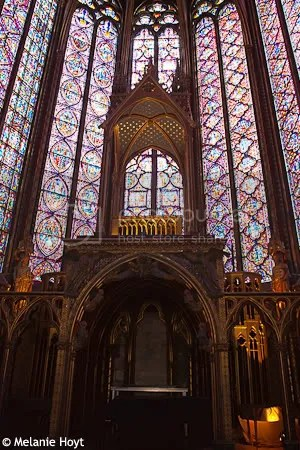 La Sainte-Chapelle windows 1