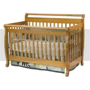 Davinci Emily 4 in 1 Convertible Crib - Oak
