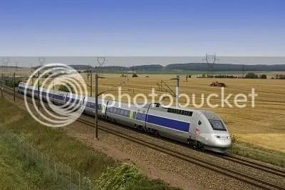TGV high speed electric train