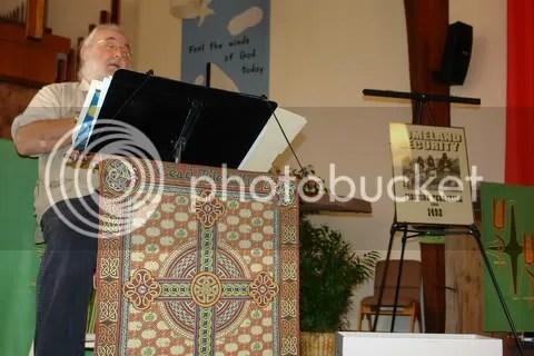 Rev. Dr. George Cairns at 1st TIP Conference