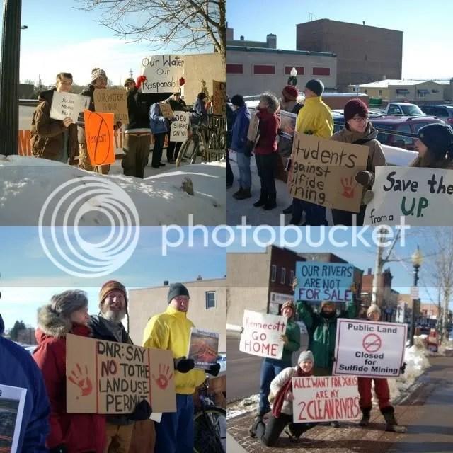 Mqt Mining Protest Quad
