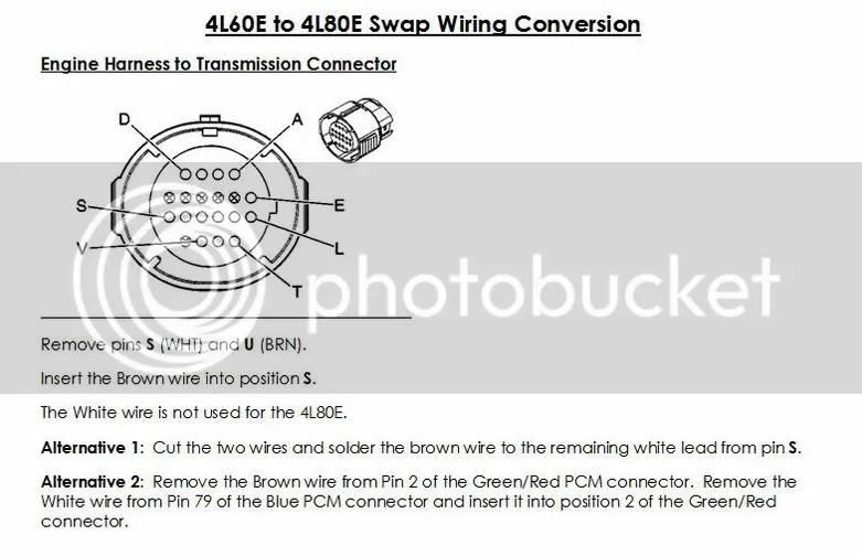 transmission wiring harness diagram additionally 4l80e transmission4l60e to 4l80e wiring relay 5 5 derma lift de \\u20224l60e wiring pinouts green plug