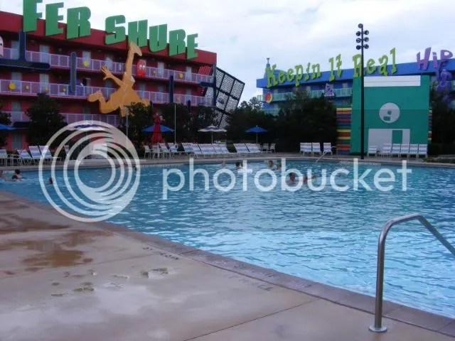 Pop Century 90's, pool