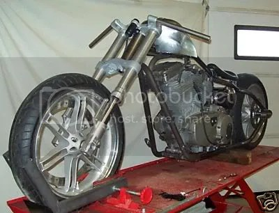 Dd on Sportster Chopper Chassis