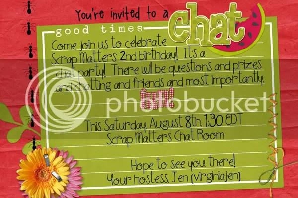 SM Birthday Chat
