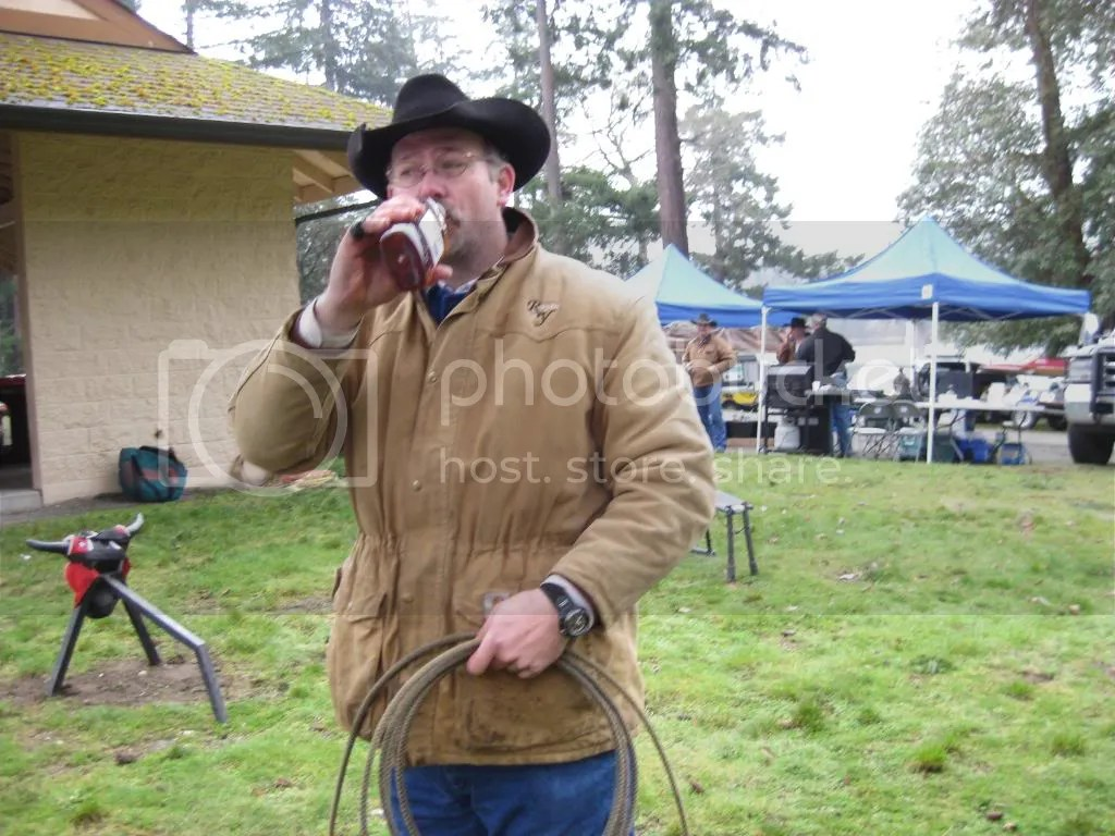 I need some whiskey before I teach those Morelli girls how to rope!