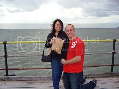 Me & Ivan on the Southend pier