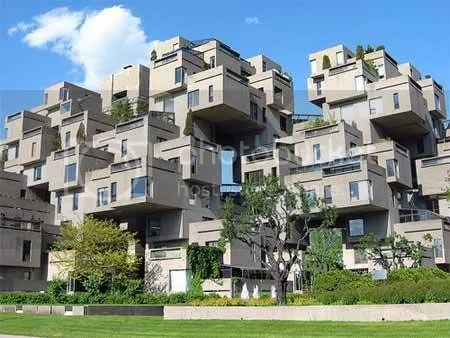 weird building design Habitat 67