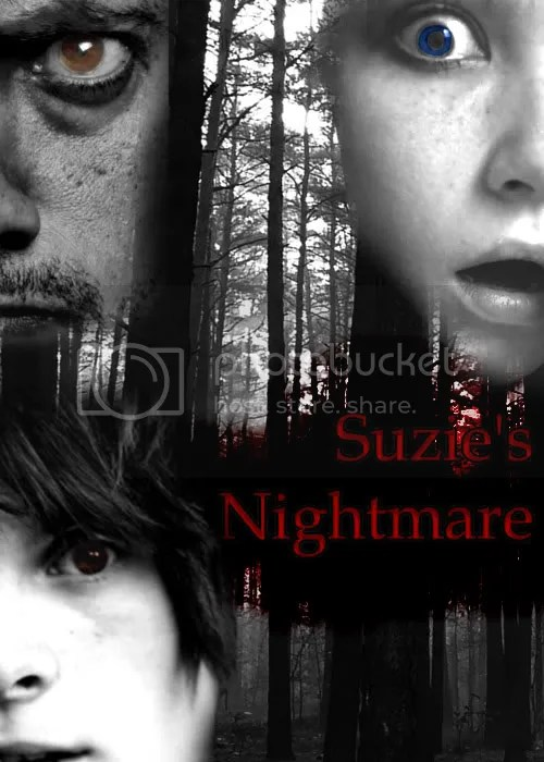 suzie nightmare,book cover