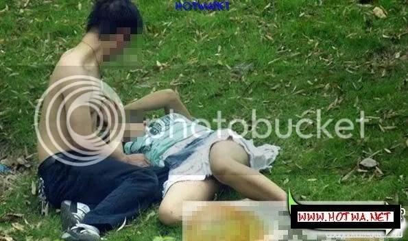 ChupLen 0013 Chụp lén đôi nam nữ làm tình nơi công cộng giữa ban ngày