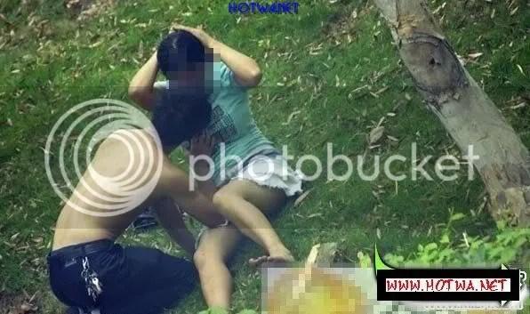 ChupLen 0021 Chụp lén đôi nam nữ làm tình nơi công cộng giữa ban ngày
