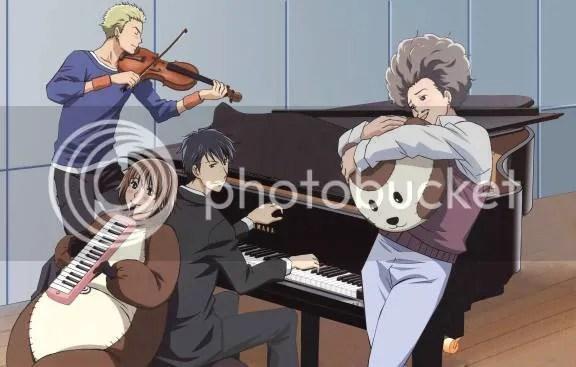 Ryuutaro, Nodame, Shinichi and Masumi