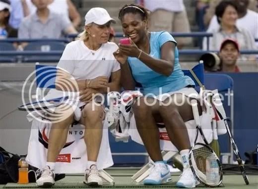 Serena and Martina - Hit and Run aug09