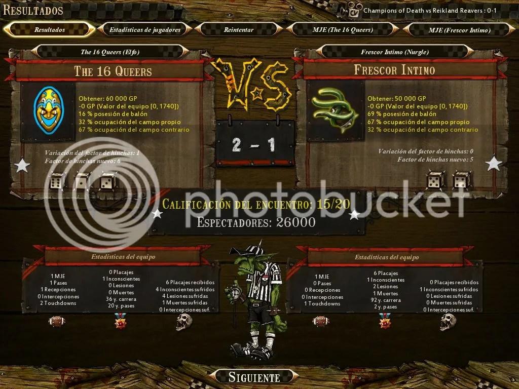 Elfos Pro VS Nurgle