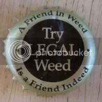 Weed cap
