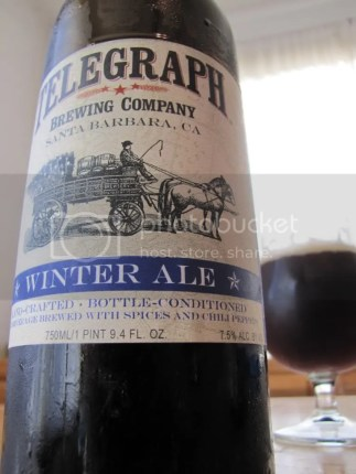 Telegraph Winter Ale, copyright Brewed for Thought