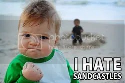sand castle hate Pictures, Images and Photos