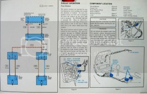 Fuse box Wiring Diagram 76  CorvetteForum  Chevrolet