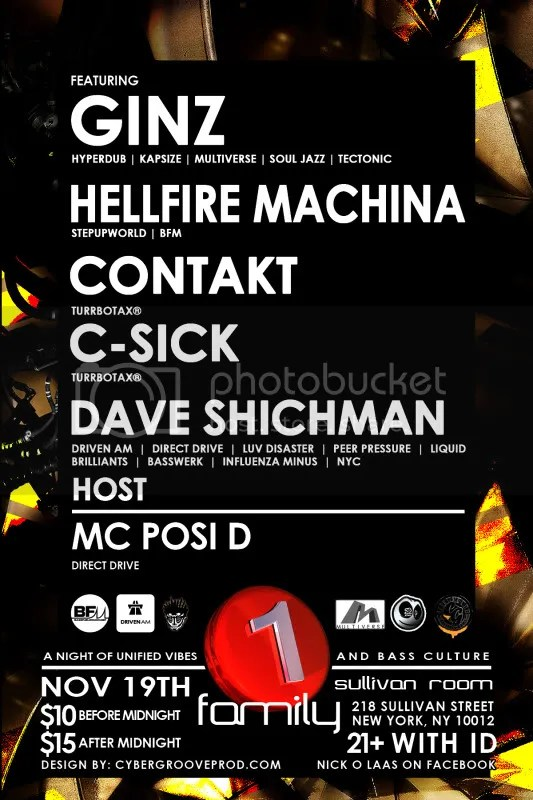 C-Sick Contakt contact turbotax turrbotax 1 family one family ginz hellfire machina hellfire machine dubstep new york dubstep nyc uk funky new york uk funky nyc