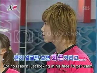 Yunho says he feels all warm when he sees JJ's face after that! xD