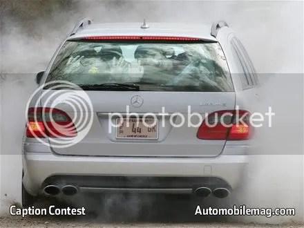 Mercedes Benz E63 AMG Wagon:  525hp, 0-60 @ 4.3sec